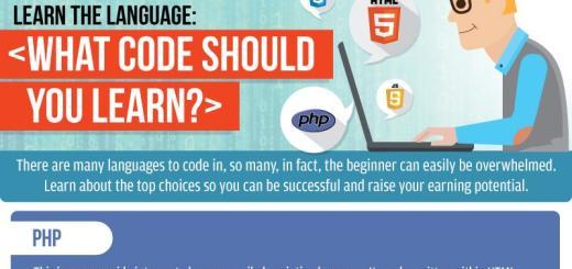 ¿Cuál lenguaje de programación debo aprender? (infografía)