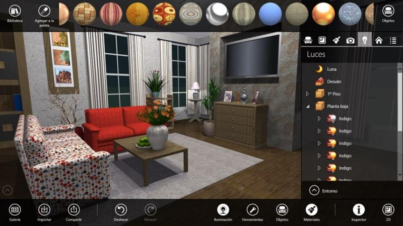 Live interior 3d free dise a interiores con este software for Programa decoracion interiores online