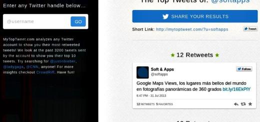 My Top Tweet: descubre los 10 tweets más retuiteados de cualquier cuenta