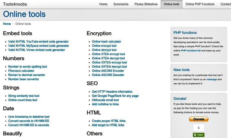 Online Tools: conjunto de prácticas herramientas para usar online