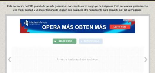 PDFtoPNG: convertidor online gratuito de PDF a PNG