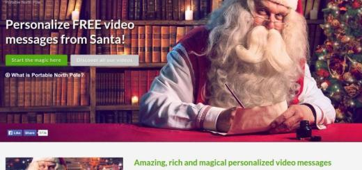 Portable North Pole: crea vídeos personalizados con mensajes de Papá Noel