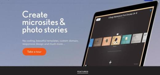Readymag: crea micrositios, magazines o presentaciones online