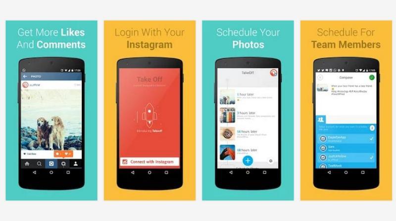 TakeOff: app Android para programar publicaciones en Instagram
