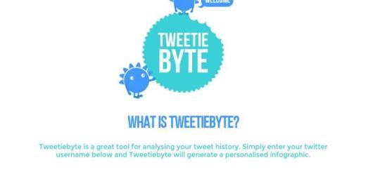 Tweetiebyte: crea una infografía con tus estadísticas de Twitter