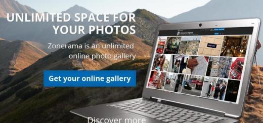 Zonerama: espacio ilimitado para almacenar fotos en la nube