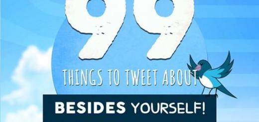 99 ideas para tuitear