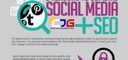 Ocho motivos para combinar SEO y Redes Sociales (infografía)