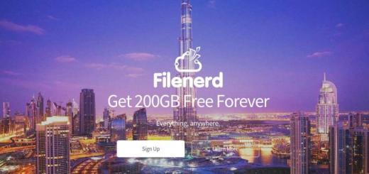 FileNerd: 200 Gb de espacio gratis para almacenar archivos