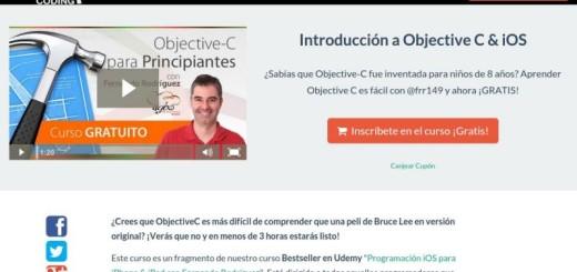 Curso gratuito y en español de Introducción a Objective C