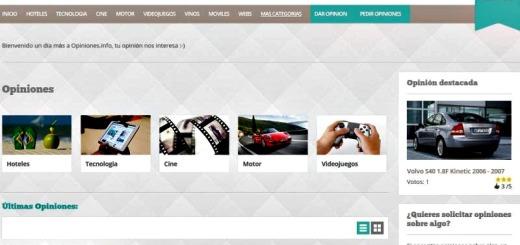 Opiniones: red social para leer y dejar opiniones de productos y servicios