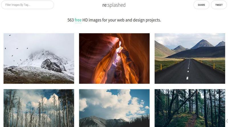 Resplashed: cerca de 600 imágenes de dominio público
