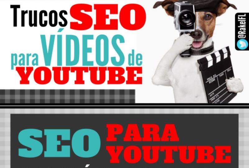Infografía con trucos SEO para los vídeos de YouTube