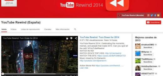 YouTube Rewind 2014: los vídeos populares en 2014