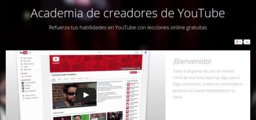Academia de creadores de YouTube para convertirte en un Youtuber