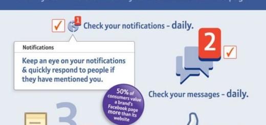 Consejos para sacar más provecho a tu página de Facebook (infografía)