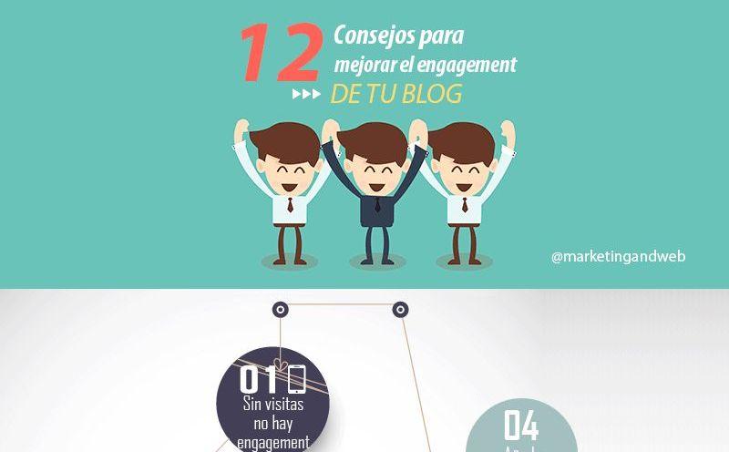 12 interesantes consejos para mejorar el engagement de tu blog (infografía)