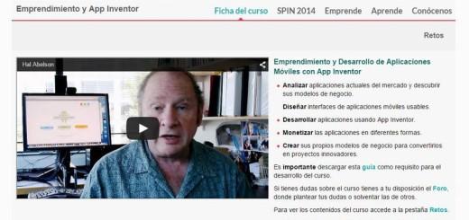 Curso de Emprendimiento y Desarrollo de Aplicaciones Móviles con App Inventor