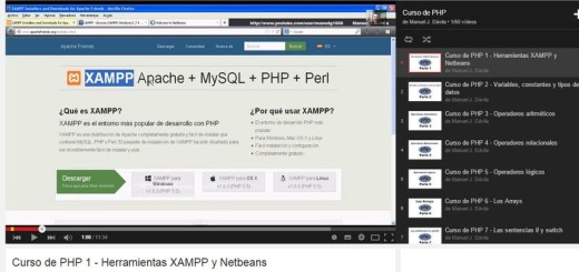 Curso de PHP en YouTube