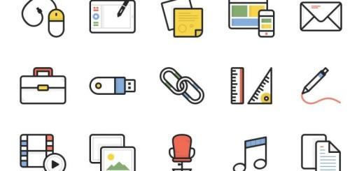 Dashel Icon Set: pack de iconos gratuitos en varios formatos