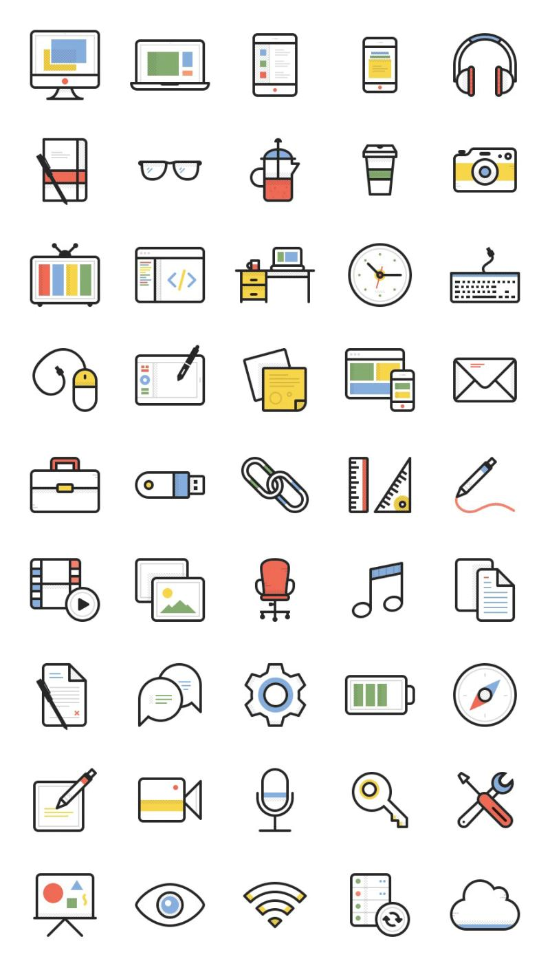 Dashel Icon Set Pack De Iconos Gratuitos En Varios Formatos