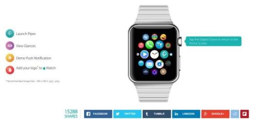 Demo online para probar el Apple Watch