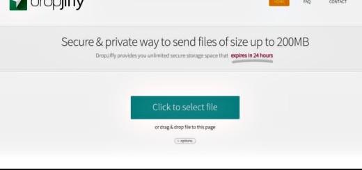 DropJiffy: envía gratis y de forma segura archivos de hasta 200 Mb