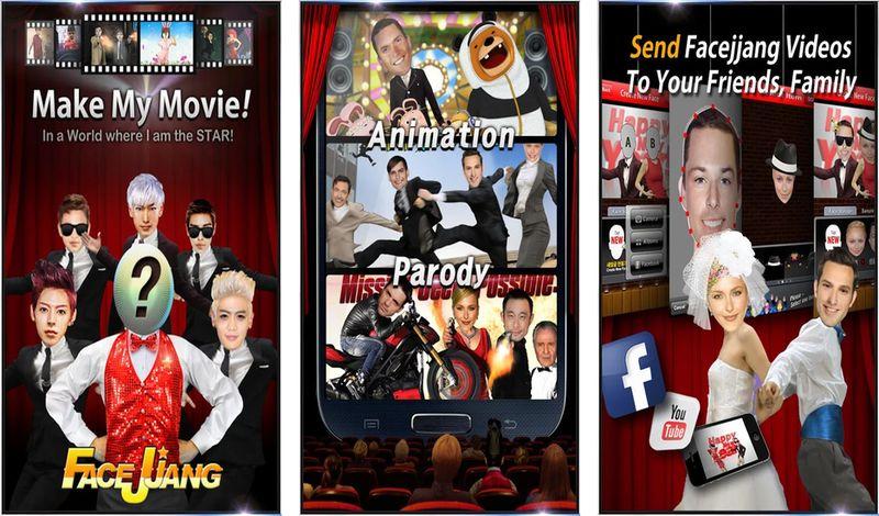 Facejjang: app Android para crear divertidos vídeos con tu rostro