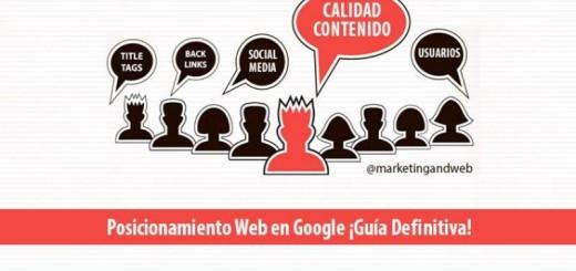 La guía definitiva de posicionamiento web en Google (infografía)