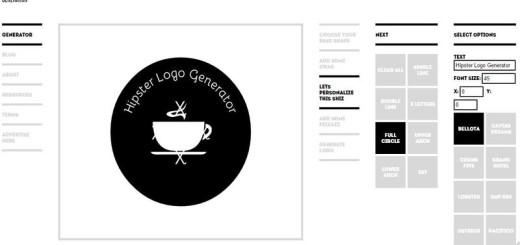 Hipster Logo Generator: práctico generador de logotipos online