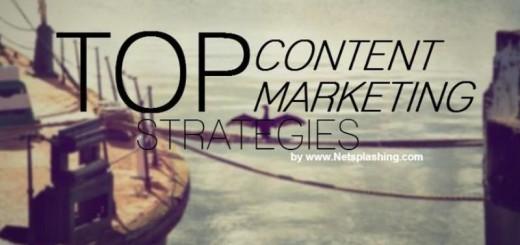 Top de estrategias para el marketing de contenidos (infografía)