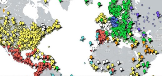Newspaper Map: mapa que geolocaliza diarios online de todo el mundo