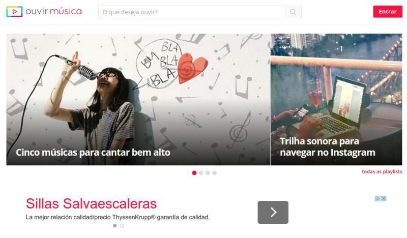 Ouvir Musica Ouvir Música: gran solución para escuchar música online