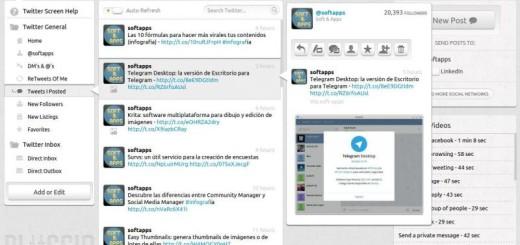 Pluggio: excelente gestor para tus cuentas de Twitter