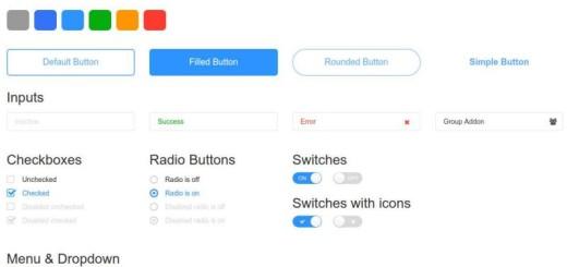 Shit Done: kit gratuito de elementos web para diseñadores