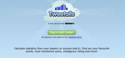 Tweetails: análisis y estadísticas de tu cuenta de Twitter
