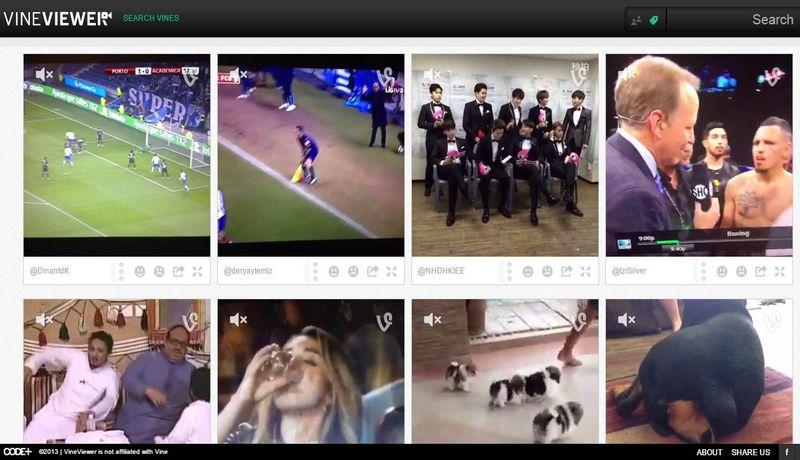 VineViewer: un eficiente buscador de vídeos en Vine