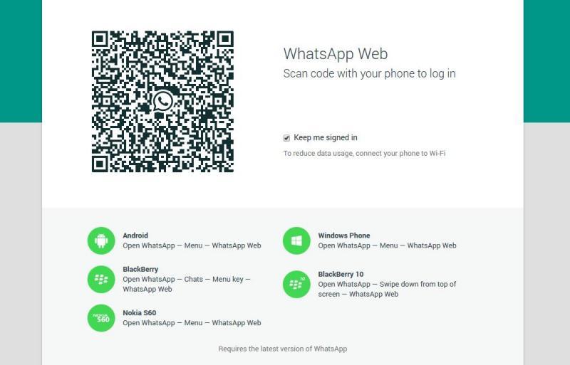 WhatsApp Web: es oficial WhatsApp ya tiene versión web