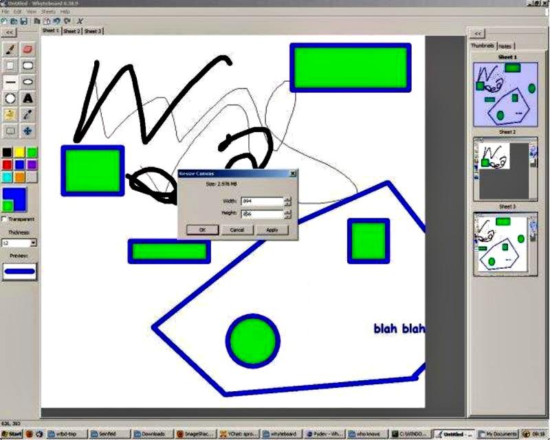 Whiteboard: alternativa a Paint con soporte para múltiples pestañas
