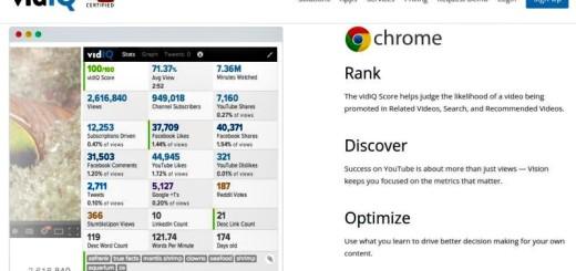 vidIQ: extensión Chrome con estadísticas de tu canal de YouTube