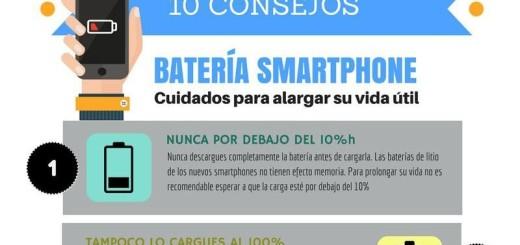 Alargar la vida de la bateria del smartphone