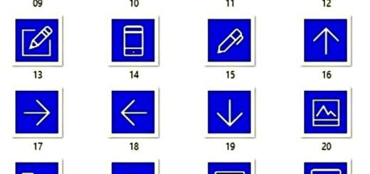 Dark Blue Icons Pack: iconos variados y libres en tono azul oscuro
