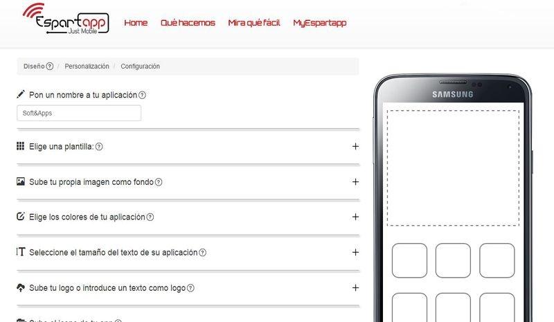 Espartapp: crea apps móviles gratis y sin conocimientos de programación