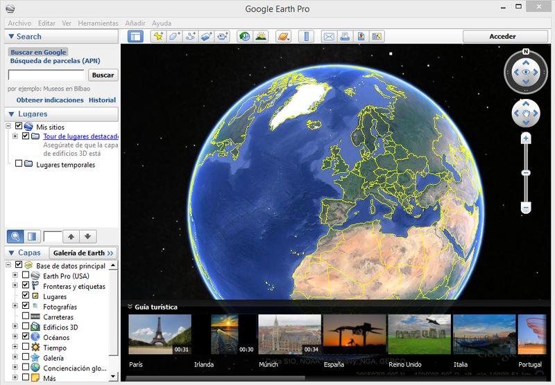 Google Earth Pro ya es un software gratuito