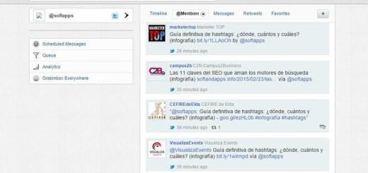 GrabInbox: otra plataforma para gestionar tus redes sociales
