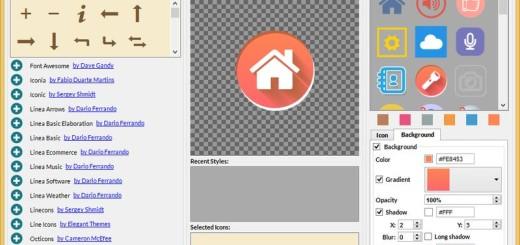 Iconion: software gratis con el que cualquiera puede crear bellos iconos
