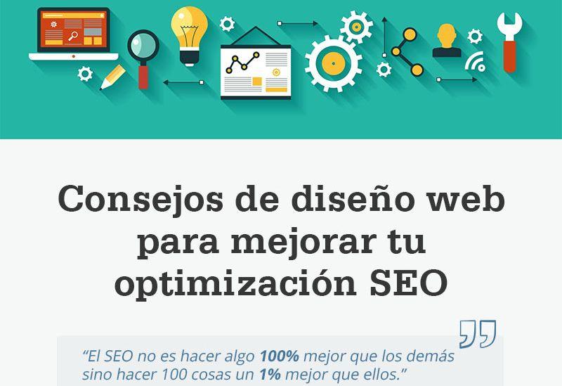 Consejos de diseño web para mejorar tu SEO On-page (infografía)