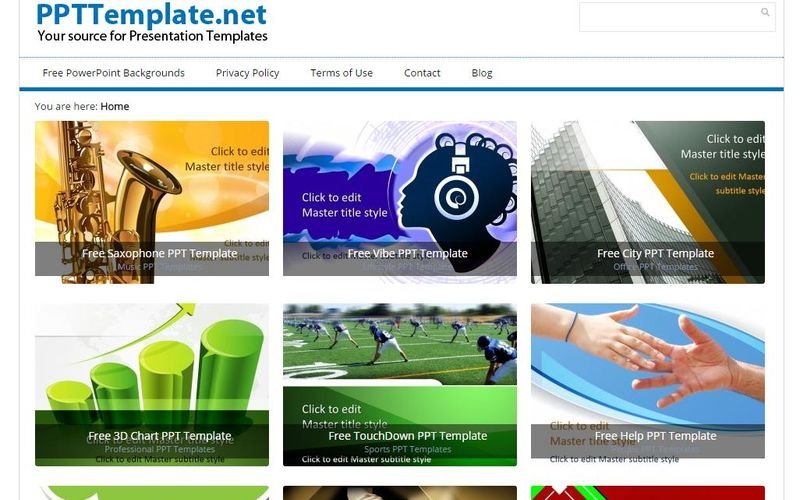 PPT Template: gran colección de plantillas gratis para PowerPoint
