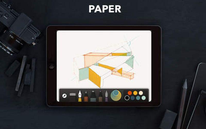 Paper by FiftyThree: la mejor app de dibujo para iPad ya es completamente gratuita