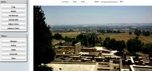 PicMagick: editor fotográfico online de uso gratuito